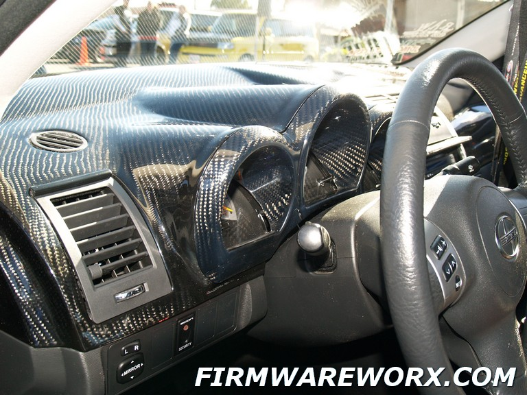 Firmwareworx Carbon Fiber Dash And Door Panel Mid Sections